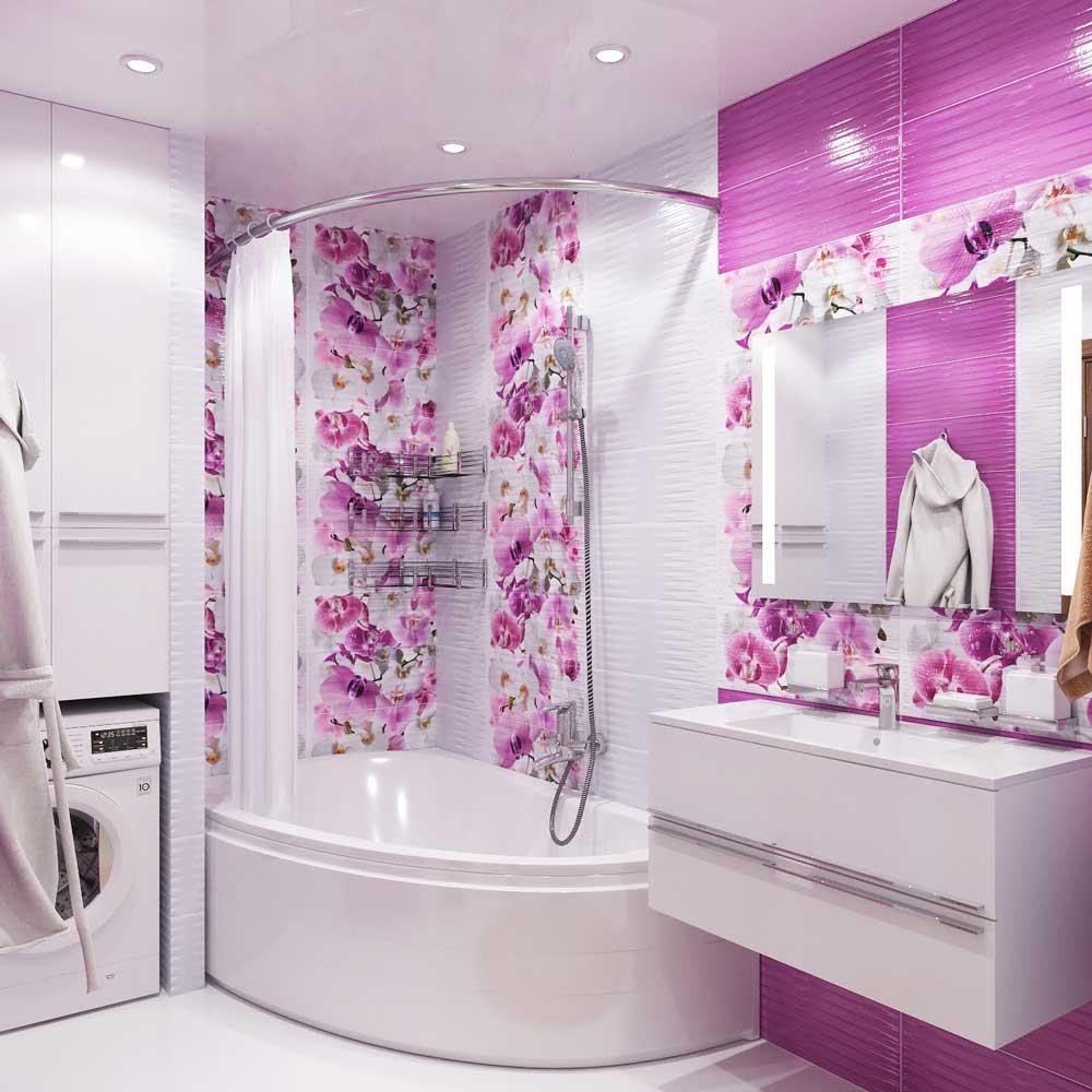 صورة حمامك صغير تفضلي افكار لتزيينه 1062 9