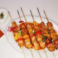 اسياخ دجاج ايراني بطريقة شوي بالفرن خاصة هديتي لاهل الحمية والرجيم
