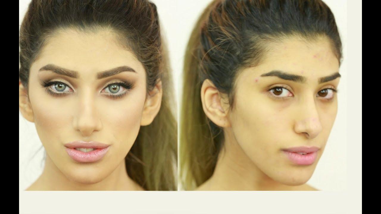كيفية نحت الوجه بالميك اب و اكيد بالصور احترفى المكى اج