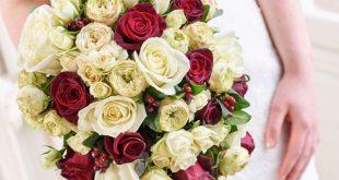 انواع الورد الوانه اشكال مسكات للعروس