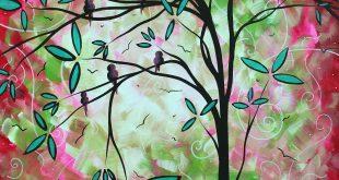 دورة الرسم على الزجاج مع مثايل