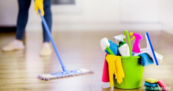 جدول اسبوعى لتنظيف المنزل سهل جد