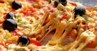مثل ما وعدتكم البيتزا من مطبخ ام انمار الكل معزوم