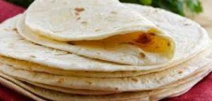 خبز التورتيلا من طق طق للسلام عليكم بالخطوات المصوره
