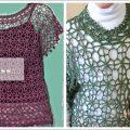 بلوزة صيفي / فستان / بالكروشية وبالتفصيل خطوة خطوة الجزء الأول 1/3 Crochet  dress shirt - YouTube