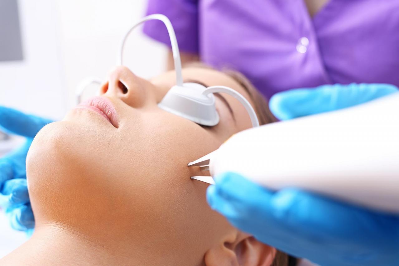 مقالات طبية: تشقير شعر الوجه