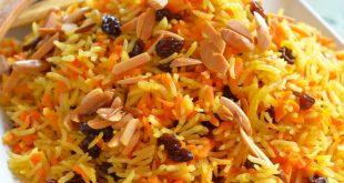 طريقة عمل الأرز البخاري الأبيض وبالدجاج والجزر