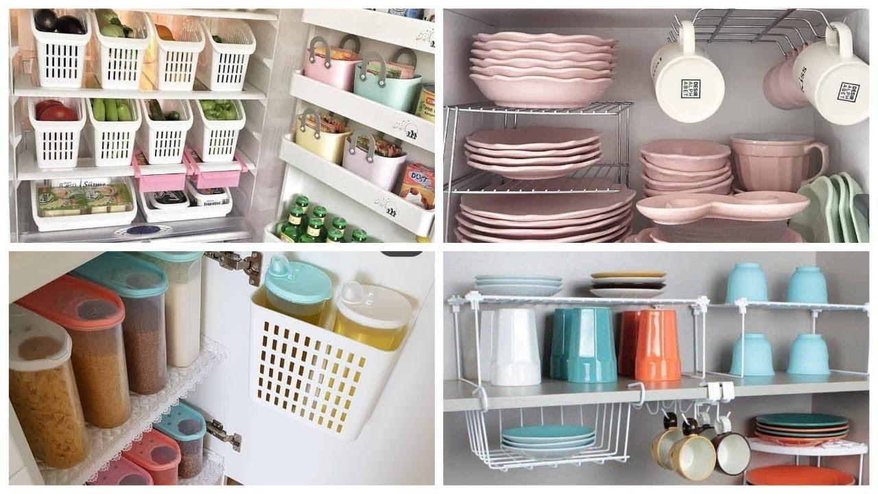 تنظيم المنزل بافكار بسيطة بغايه الرووعه🤩|| افكار لتنظيم المطبخ من المطابخ  التركيه 😍  YouTube