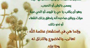معنى اسم الله تعالى الحي القيوم سبحاانك ربي ما اعظمك