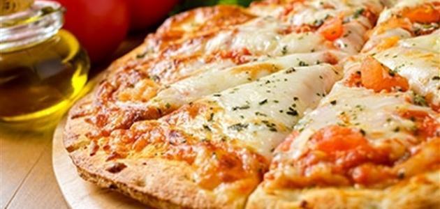 بيتزا ما رغريتا تجن و سهلة