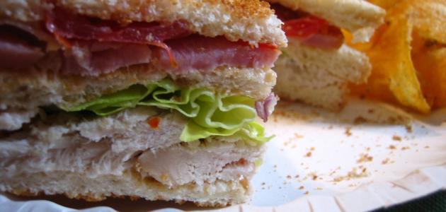 كلوب ساندوتش الطعم و او خيال من مطبخى و بصور حياكم