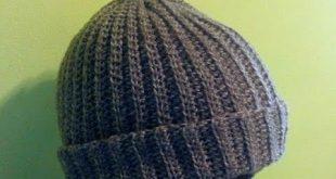 قبعة من الكروشيه