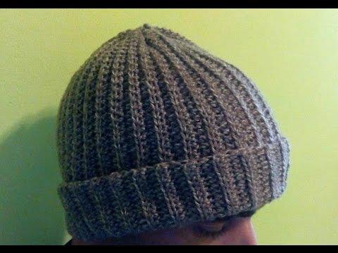 قبعه من الكروشيه