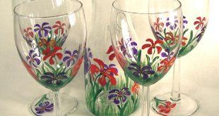 شرح باللصور الرسم على الزجاج و التعريف بمادتين حلوين
